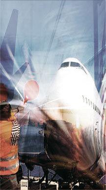 Bild Online-Formular Flug